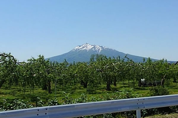 2020年5月31日の岩木山の写真