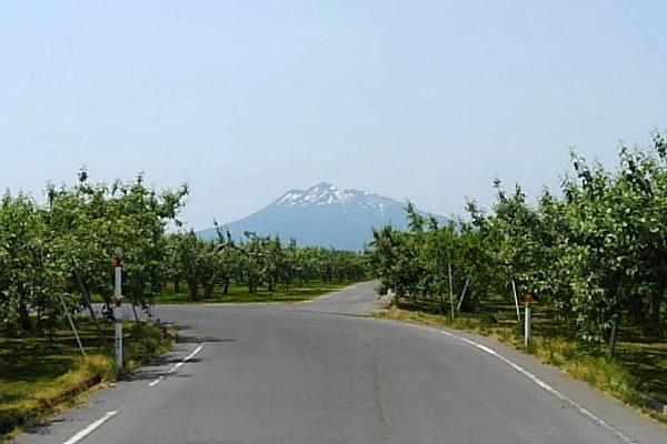 2020年6月9日の岩木山の写真