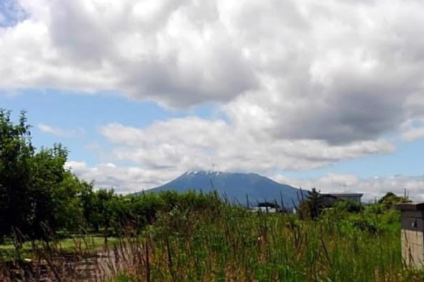 2020年6月17日の岩木山の写真