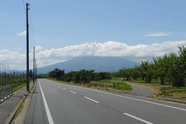 2020年6月21日の岩木山の写真