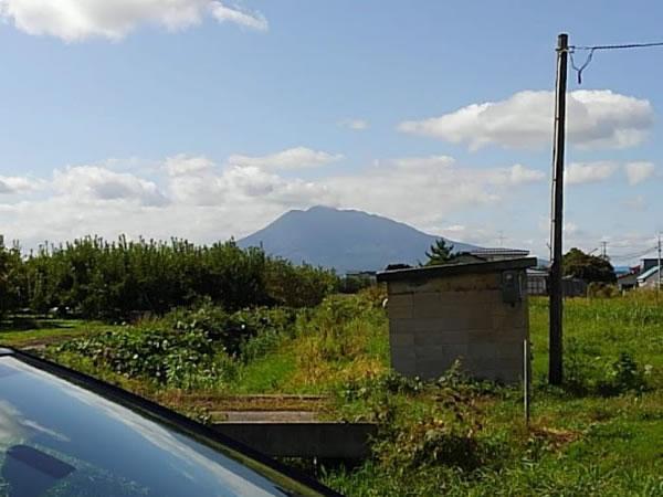 2020年9月28日の岩木山の写真
