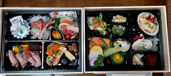 青森県津軽地方のおせち料理(年越し料理)写真