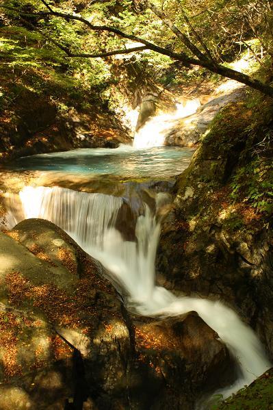 西沢渓谷滝