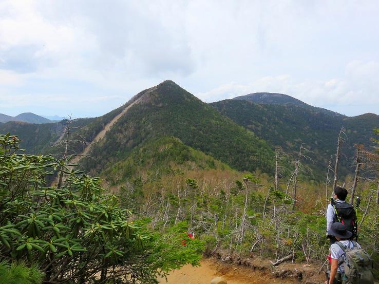 木賊山から見る甲武信ヶ岳