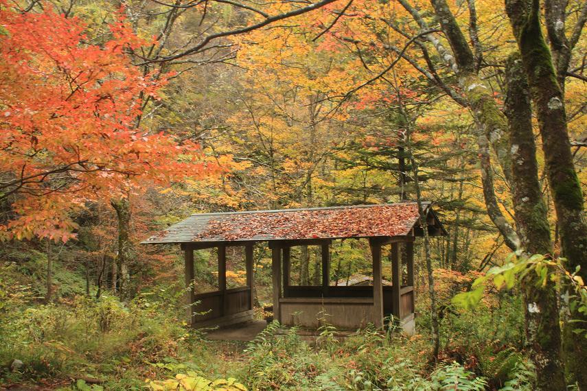 銚子の滝休憩所