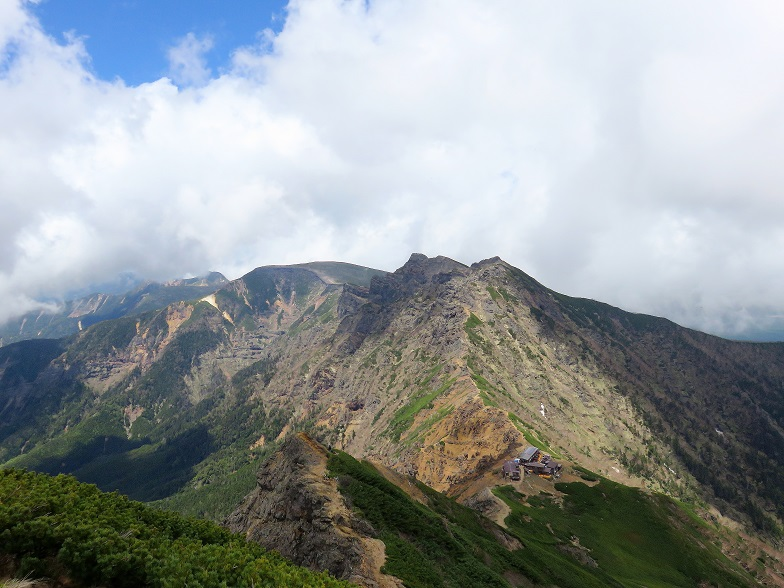 横岳・硫黄岳