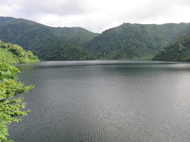 大鳥池景色