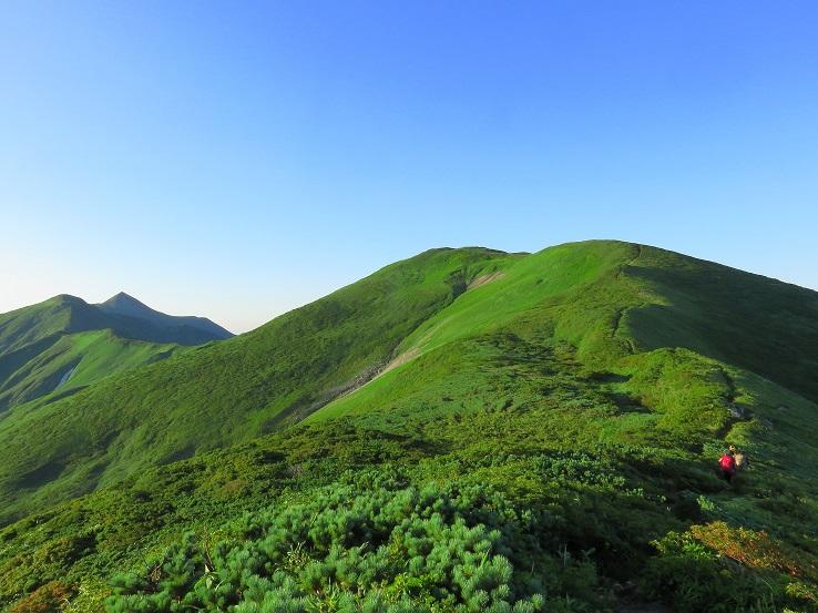 東北のお山は森林限界が低い
