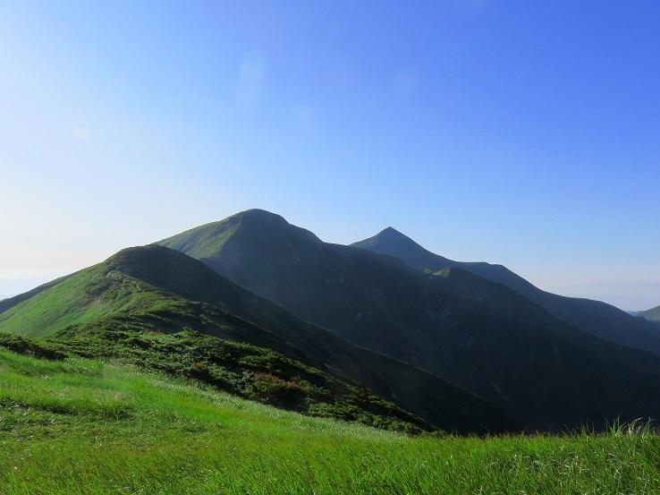大朝日岳の迫力