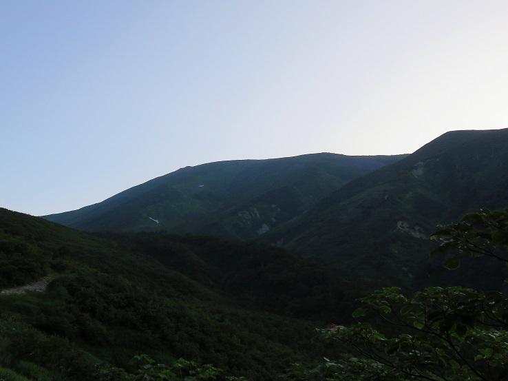 名峰月山が見えてきました