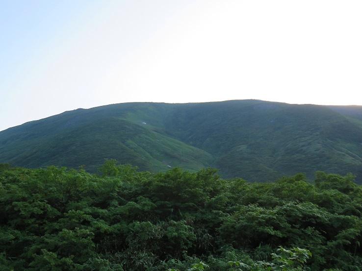 月山山頂は本当に穏やか