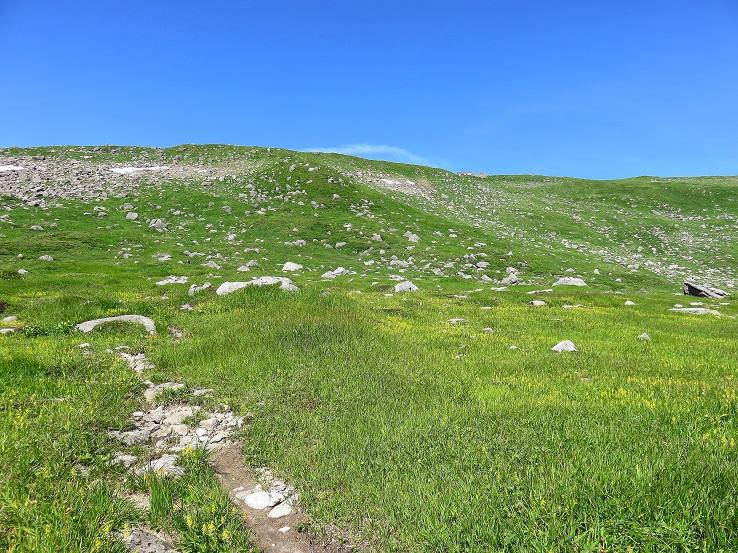 月山周辺岩コース