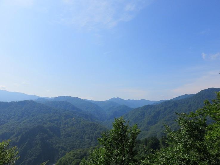 月山、念仏ヶ原の景色も見納め