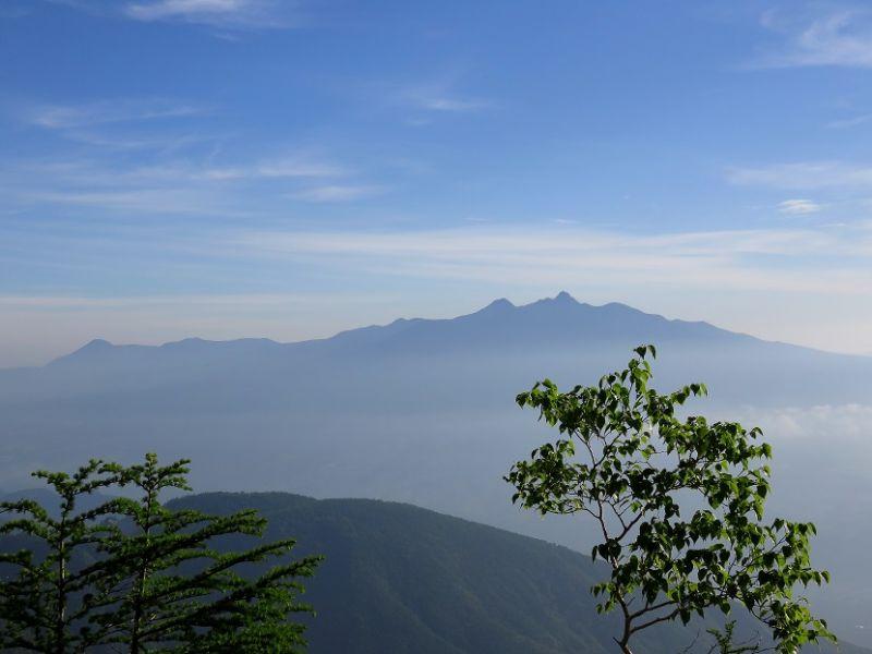 八ヶ岳の景色