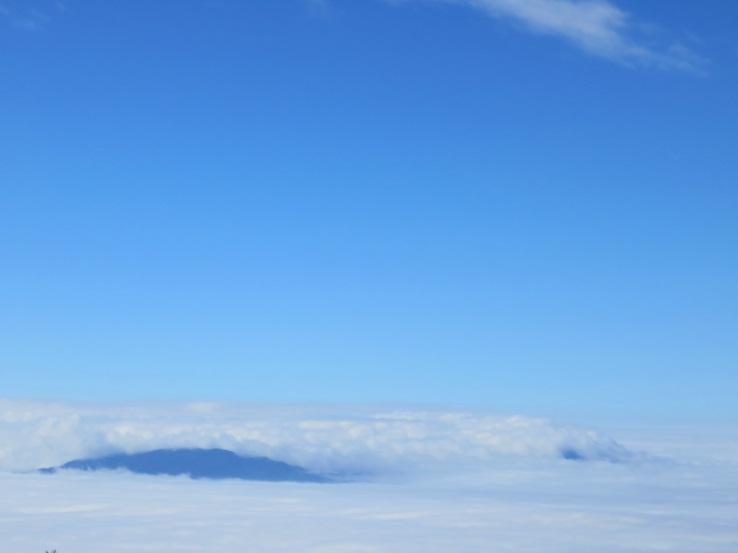 金時山方面の、明神ヶ岳景色