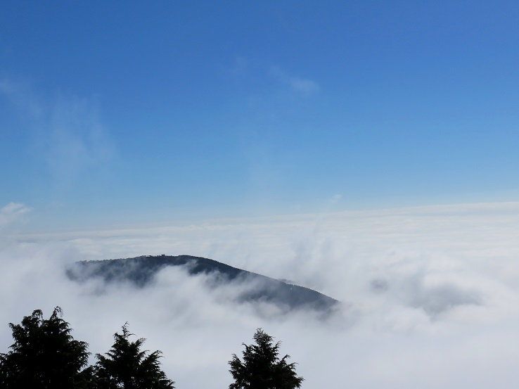 蛭ヶ岳の山頂どんな景色か