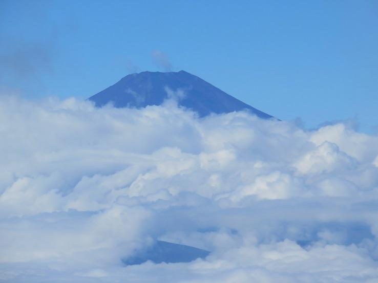 塔ノ岳から富士山