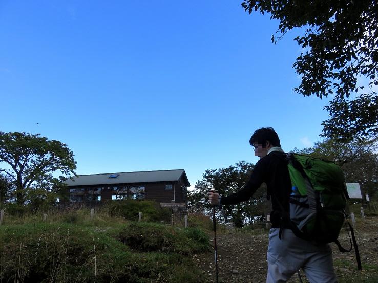 蛭ヶ岳から丹沢山へ戻ってきた