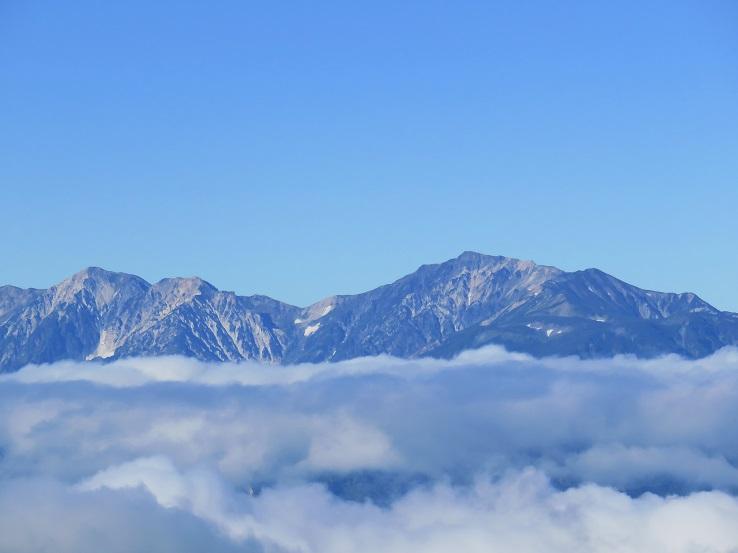白馬岳方面