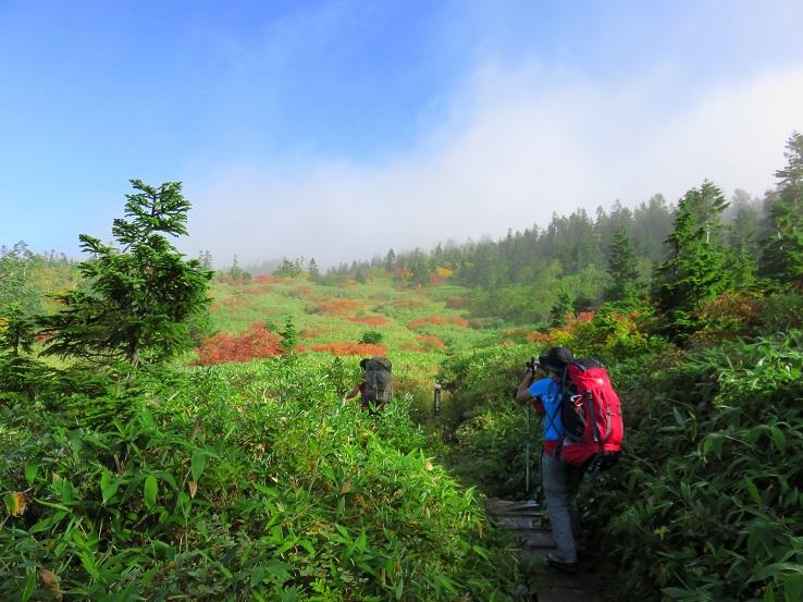 妙高山の紅葉が綺麗