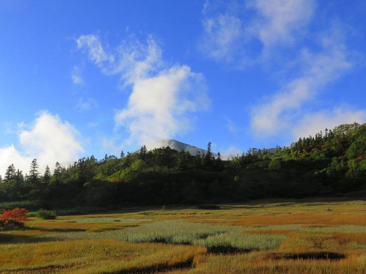 高谷池ヒュッテテント場の景色