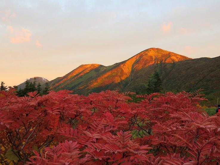 火打山・妙高山の紅葉は、この時期が旬