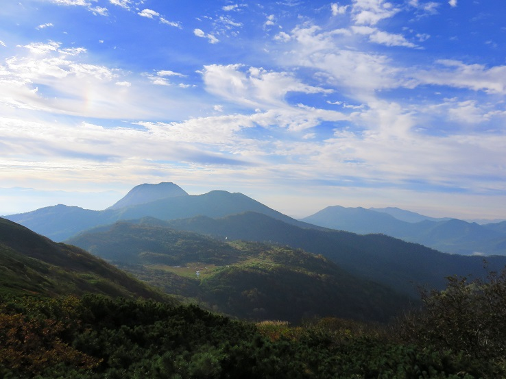 妙高山の山容