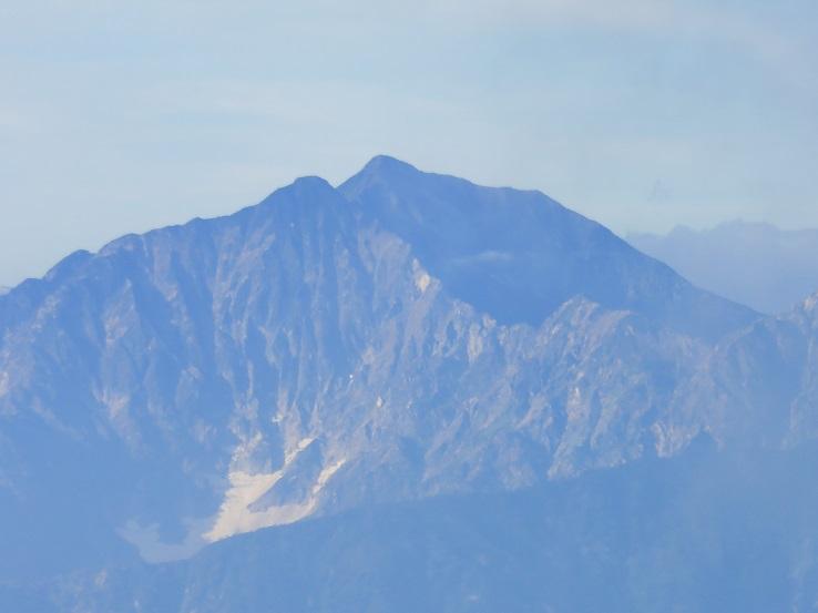 五竜岳か唐松岳
