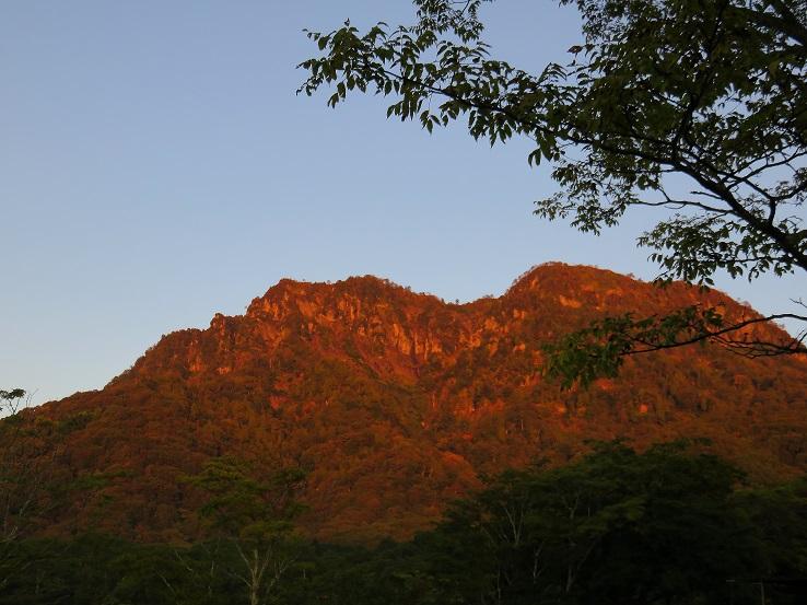 モルゲン戸隠山