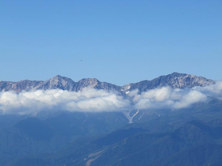 高妻山の雲