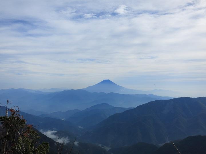 笊ヶ岳日帰り登山