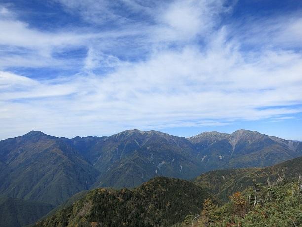 笊ヶ岳景色