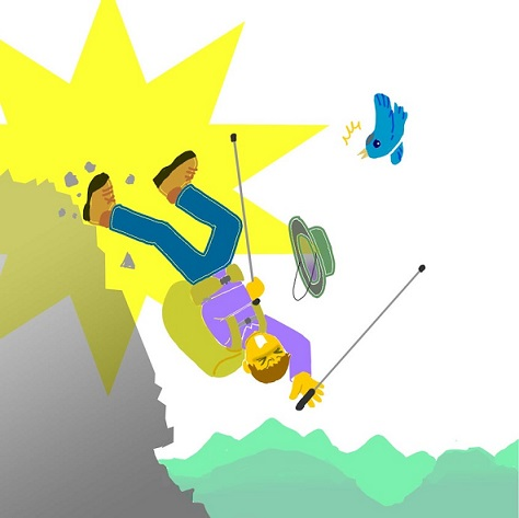 滑落、遭難登山者の登山者の運命と行旅死亡人
