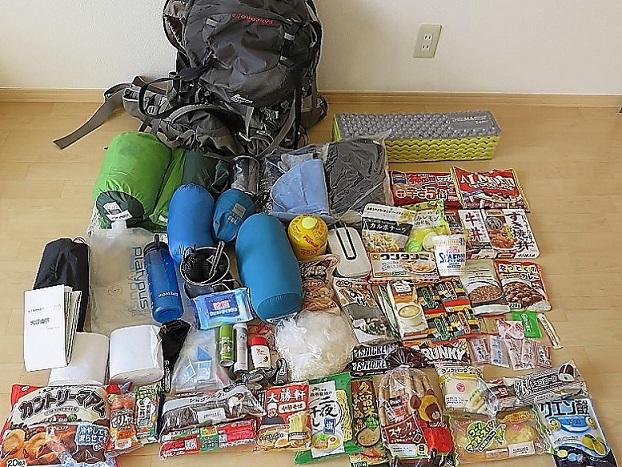 大峯奥駈道熊野古道5泊6日テント泊縦走の装備