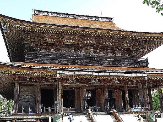 世界遺産の金峯山寺