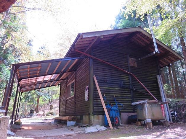 二蔵宿小屋