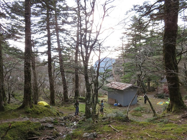 小笹宿テント泊