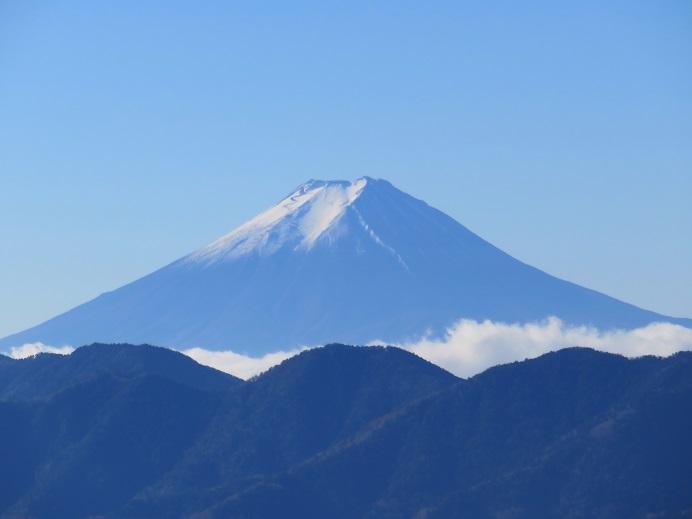 飛龍山の近くにある禿岩の展望