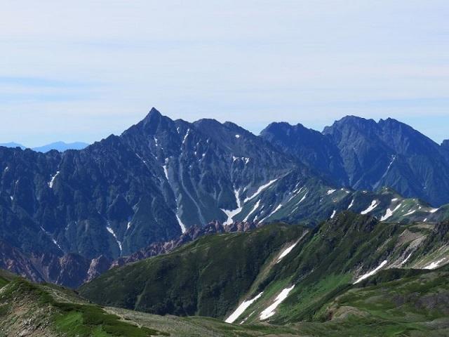 水晶岳・赤牛岳