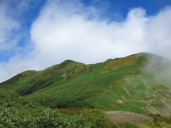 山は烏帽子岳