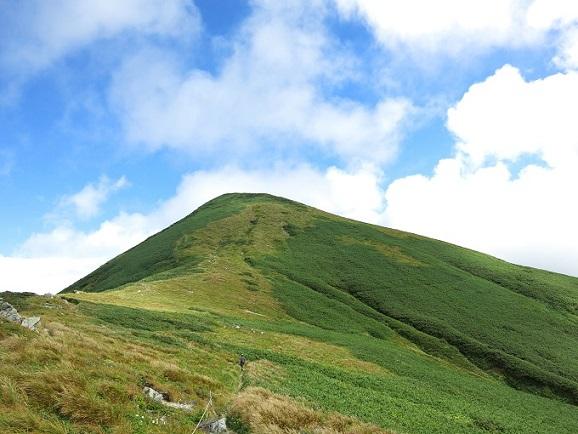 北股岳までは結構な急登