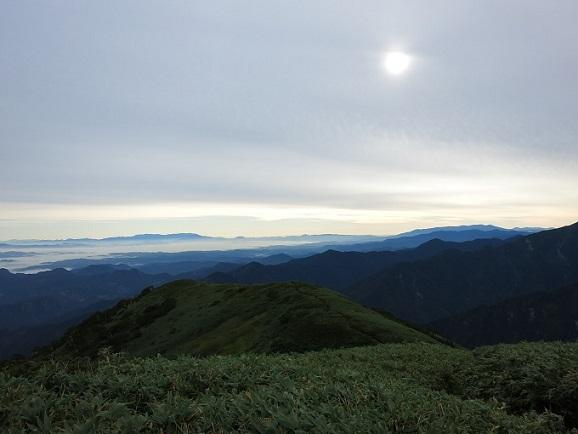 飯豊連峰下山