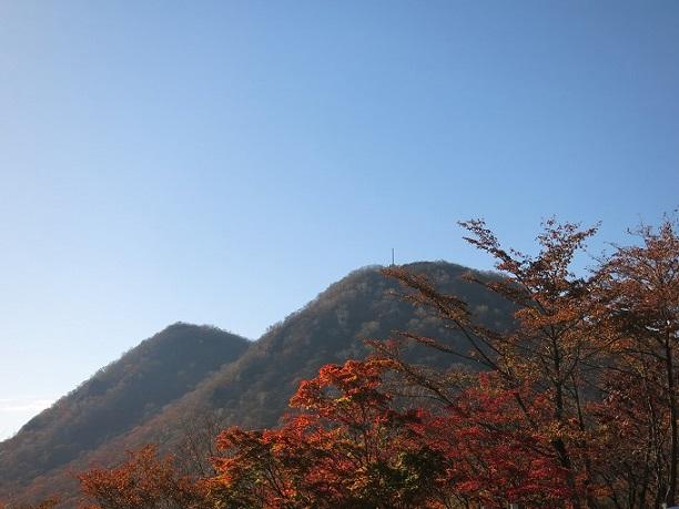 高根展望台榛名山塊周辺の紅葉