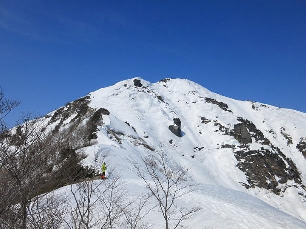 白毛門山頂遠望