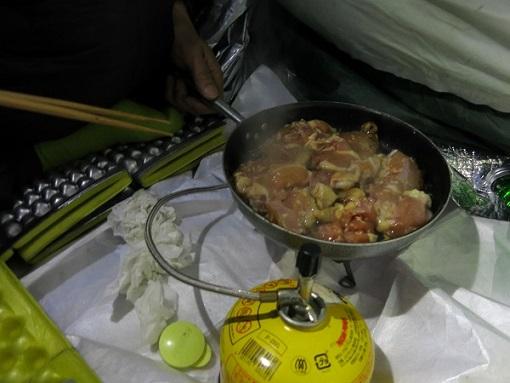 テント泊の食事