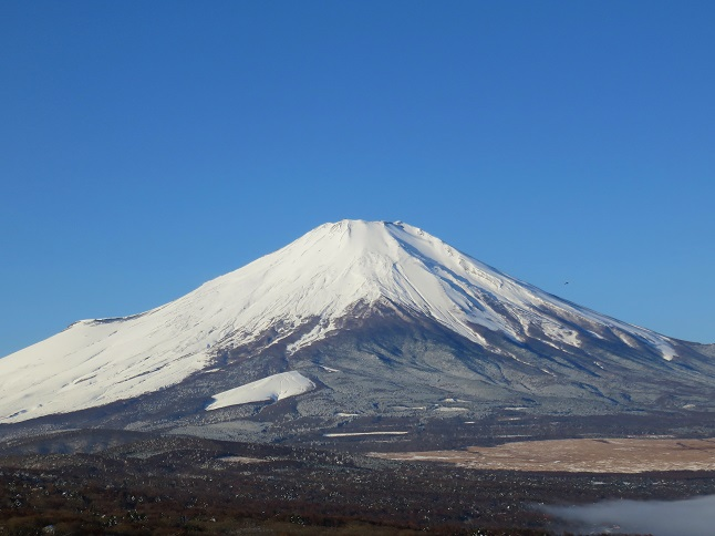 富士山下界から眺め