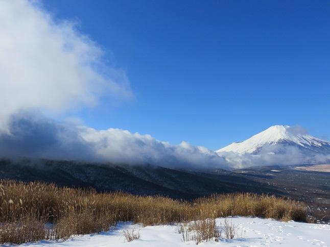 鉄砲木ノ頭(明神山雲が流れ