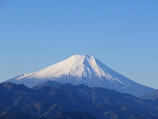 陣馬山・生藤山・三国山・権現山景色