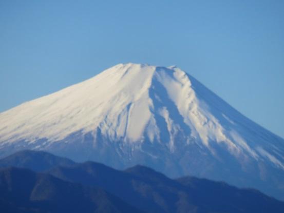 富士山の景色遠望