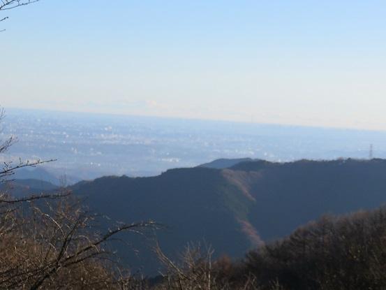 高尾山遠望